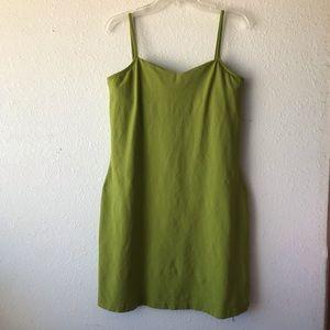 Spiegel Green Bodycon Dress, Size Large